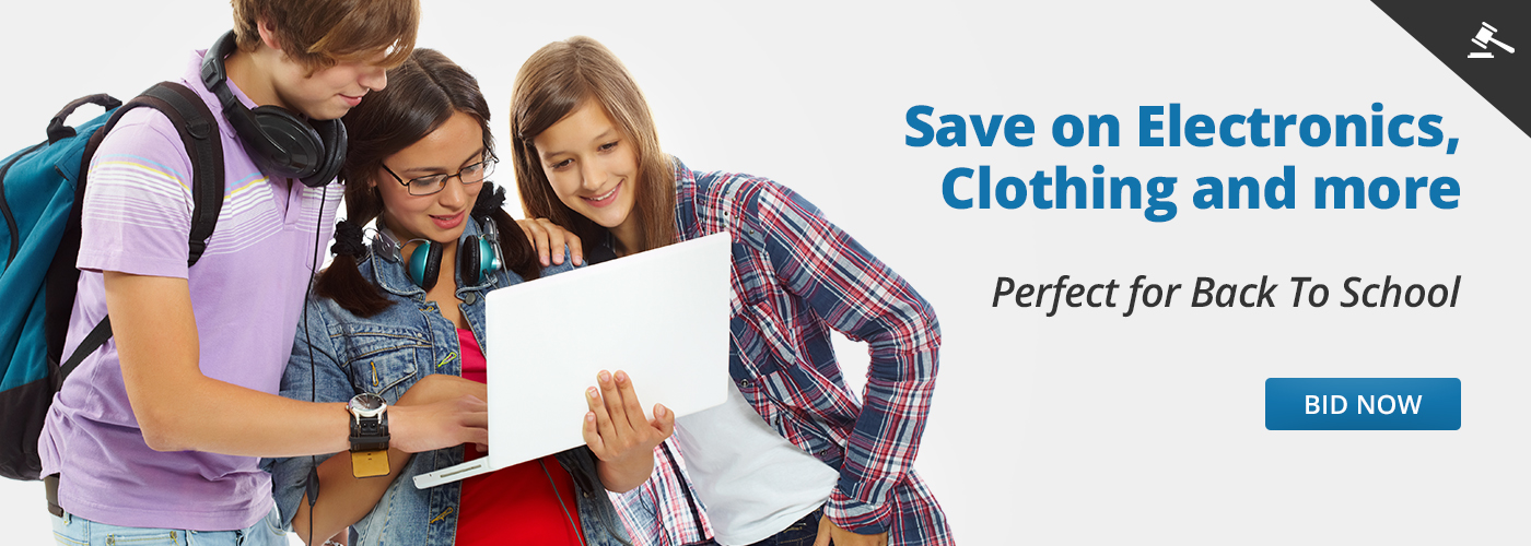 Save on Electronics, Clothing and more Bid Now