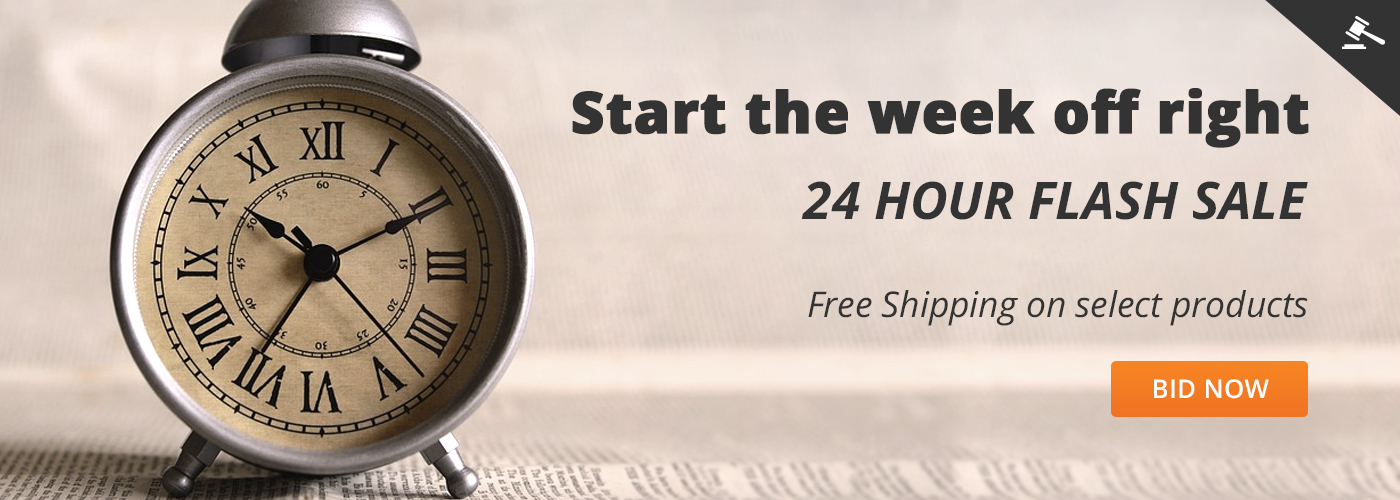 Start the week off right 24 Hour flash sale