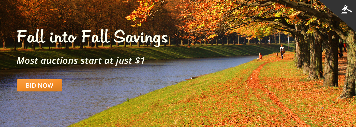 Fall into Fall Savings Bid Now