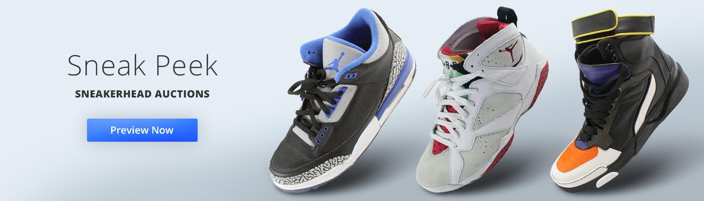 Sneakerhead Auctions - Sneak Peek