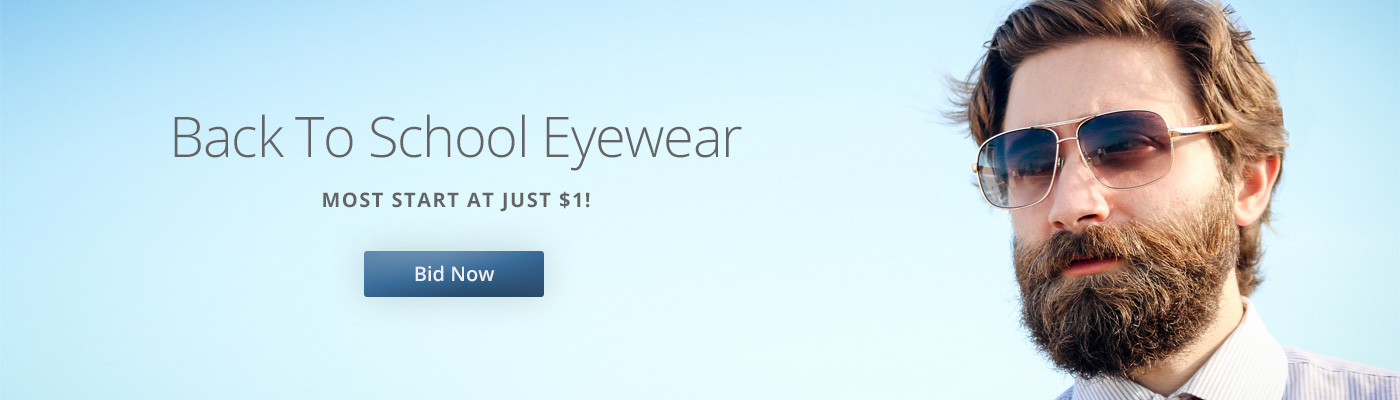 Bact to School Eyewear Auctions