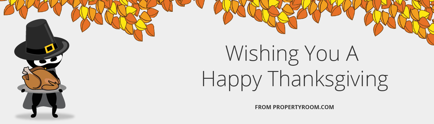 Happy Thanksgiving From PropertyRoom.com - Online Police Auctions