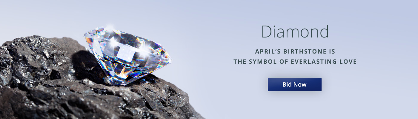 Diamond April Birthstones Auctions
