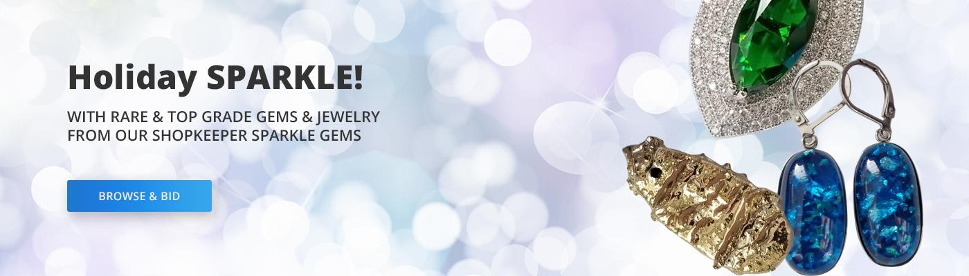 PropertyRoom.com Shopkeeper Sparkle Gems - Gem Auctions