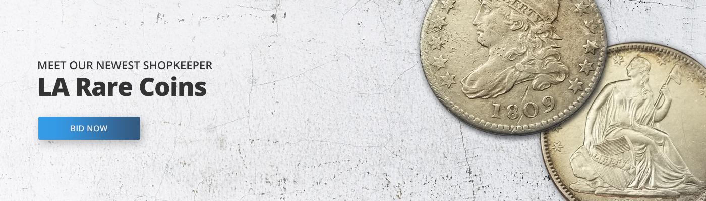 LA Rare Coins - Auctions