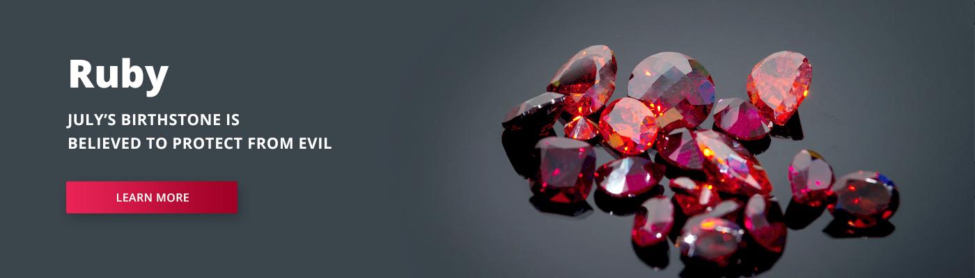 July's Birthstone - Ruby