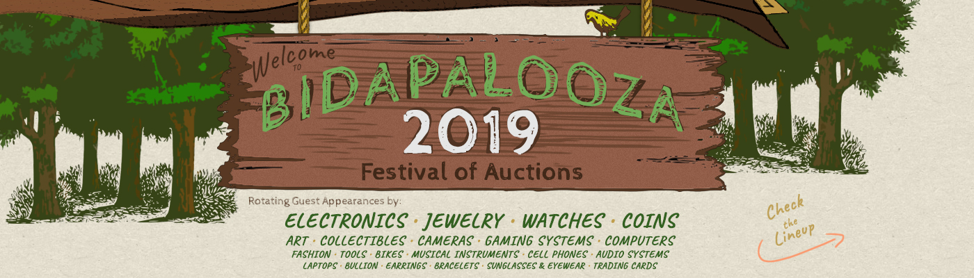 Week Long Bidapalooza - Flash Auctions - View Auctions