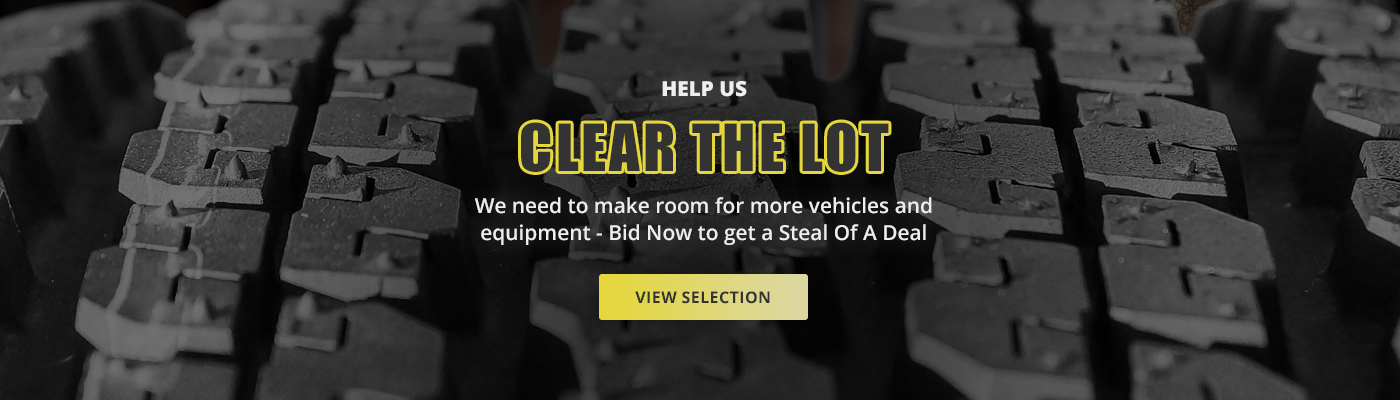 Clear The Lot - Heavy Truck Auctions