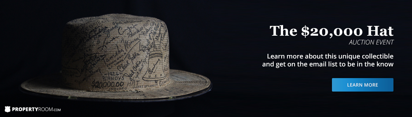 $20,000 Hat Auction Event