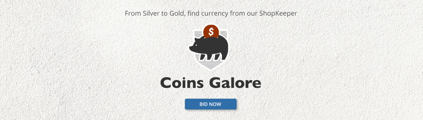 From Silver to Gold, Find Currency From Our ShopKeeper - Coins Galore