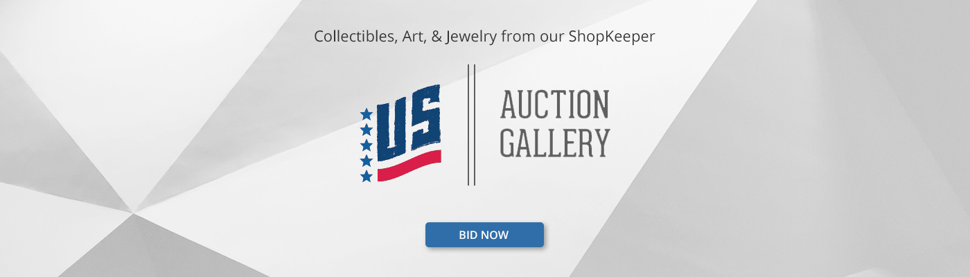 Collectibles, Art, and JewelryFrom Our ShopKeeper - US Auction Gallery