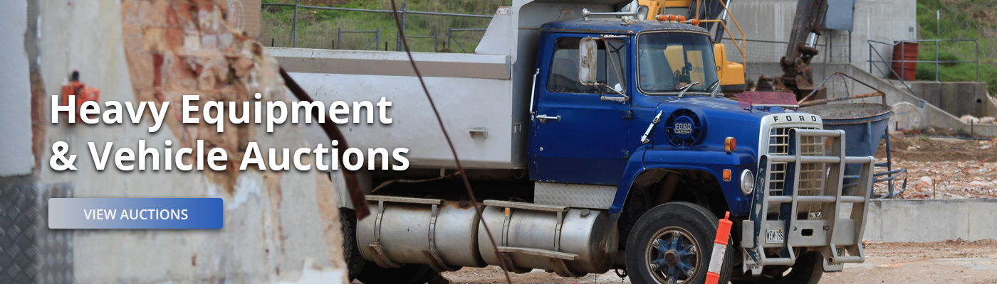 Heavy Equipment and Vehicles Auctions