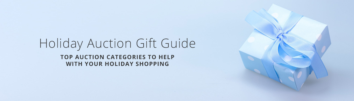 Holiday Auction Gift Guide