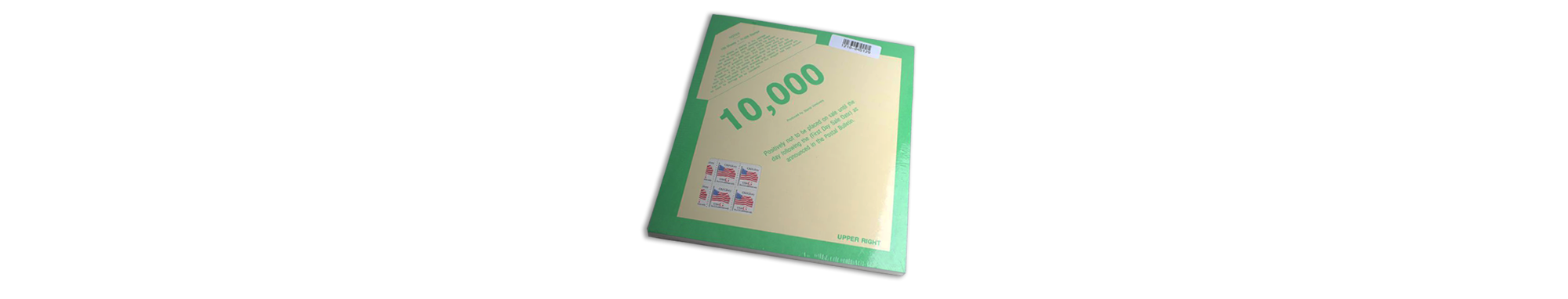 """Old Glory USA Red """"G"""" Stamps, 10,000 Piece Count"""