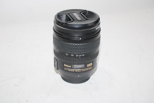 Nikon 18-70mm Wide Angle Lens