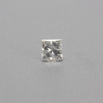 0.116ct Princess Cut Loose Diamond