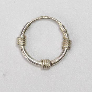 0.39g Silver Earring