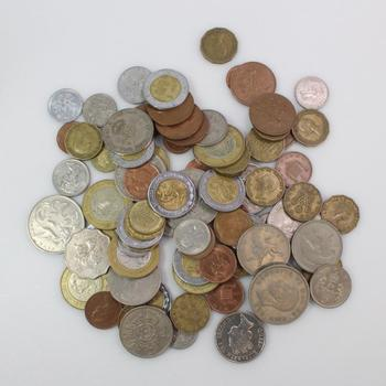 1+ Lb Foreign Coins