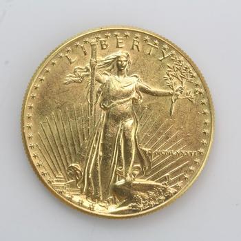 1 Oz. 22kt Gold 50 Dollar American Eagle