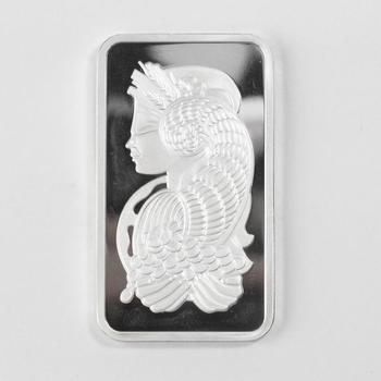 1 Oz .999 Fine Silver PAMP Suisse Lady Fortuna Bar