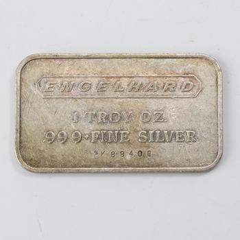 1 Troy Oz .999 Silver Bullion