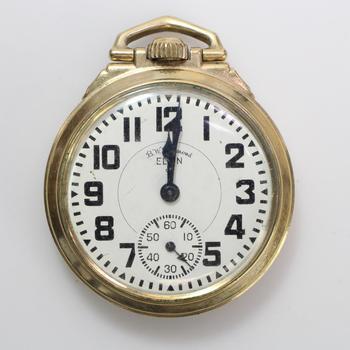 10k GF Elgin Pocket Watch