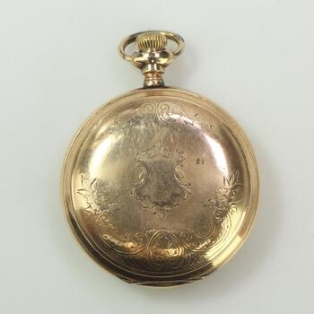 10k GF Gold Elgin Pocket Watch