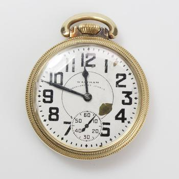 10k GF Waltham Pocket Watch