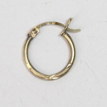 10k Gold 0.48g Earring