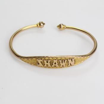 10k Gold 17.38g Bracelet