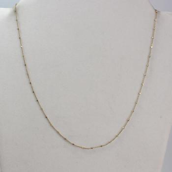 10k Gold 1.84g Necklace