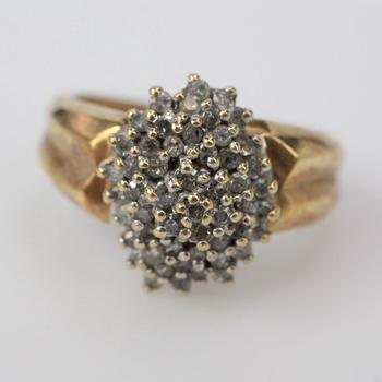 10k Gold 3.75g Diamond Ring