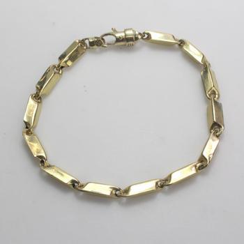 10k Gold 8.24g Hollow Bracelet