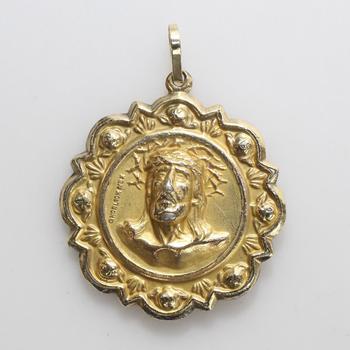 10k Gold 8.60g Religious Pendant