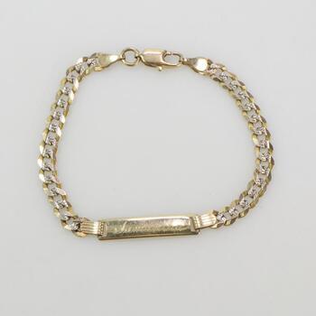 10k Gold Bracelet 5.0g