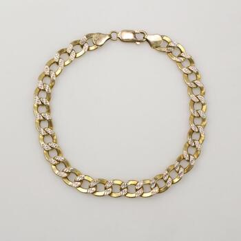 10k Gold Bracelet 8.7g
