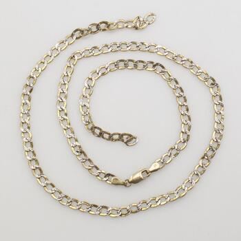 10k Gold Two-Tone Necklace