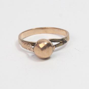 10k Rose Gold 1.91g Ring