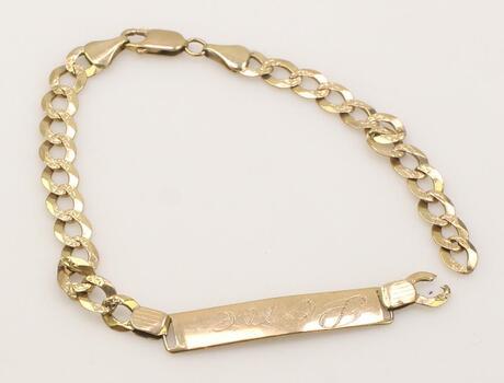 10k Rose Gold Bracelet