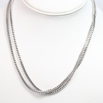 10k White Gold 15.81g Necklace