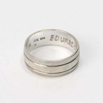 10k White Gold 4.28g Ring