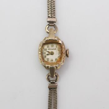 10kt GF Bulova Watch