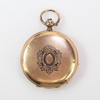 10kt GF  M. Lebrun & Co. Pocket Watch