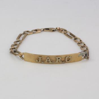 10kt Gold 12.47g Id Bracelet