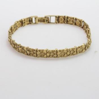10kt Gold 16.4g Bracelet