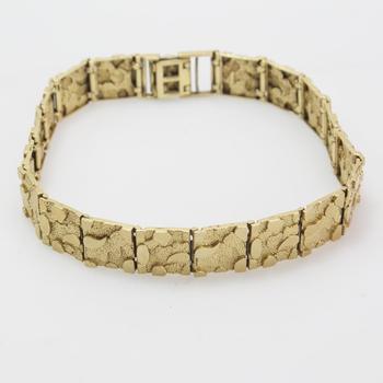 10kt Gold 18.65g Bracelet
