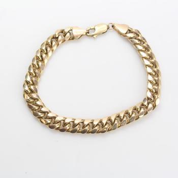 10kt Gold 19.07g Bracelet