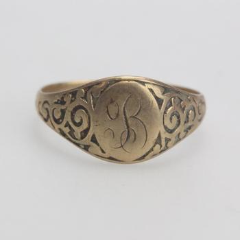10kt Gold 1.99g Signet Ring