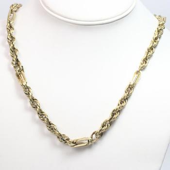 10kt Gold 33g Necklace