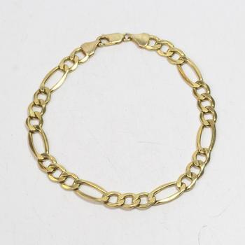 10kt Gold 4.11g Bracelet